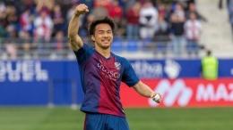 Shinji Okazaki. (via marca.com)