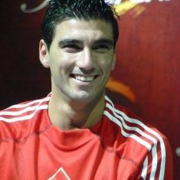 Jose Antonio Reyes, ketika jumpa penggemar di Jakarta pada 2010. (Sumber: Koleksi pribadi)