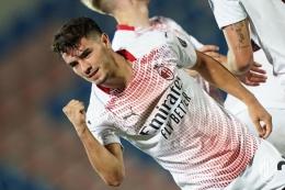 Brahim Diaz Cetak Gol pada Laga Perdana AC Milan di Serie A Musim Ini - Sumber : bola.kompas.com
