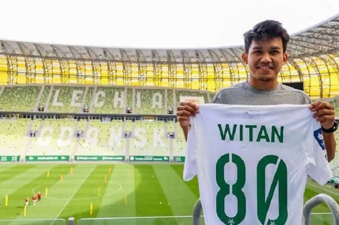 Witan Sulaeman, pemain baru Lechia Gdansk asal Indonesia (Okezone.com)