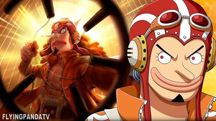GOD Usopp, One Piece 1024. (Sumber: animetopwallpaper.blogspot.com)