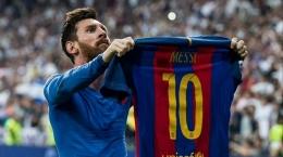 Sejak 2008 nomor 10 Barca identik dengan Messi: Dailymail.co.uk
