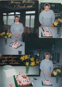 Daffodils jadi saksi rasa syukur di hatiku ( dok pri )