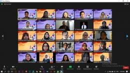 Dokumentasi pembukaan pengabdian kepada masyarakat di Kecamatan Makasar, Jakarta Timur