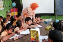 Ilustrasi guru sekolah :shutterstock/kompas.com