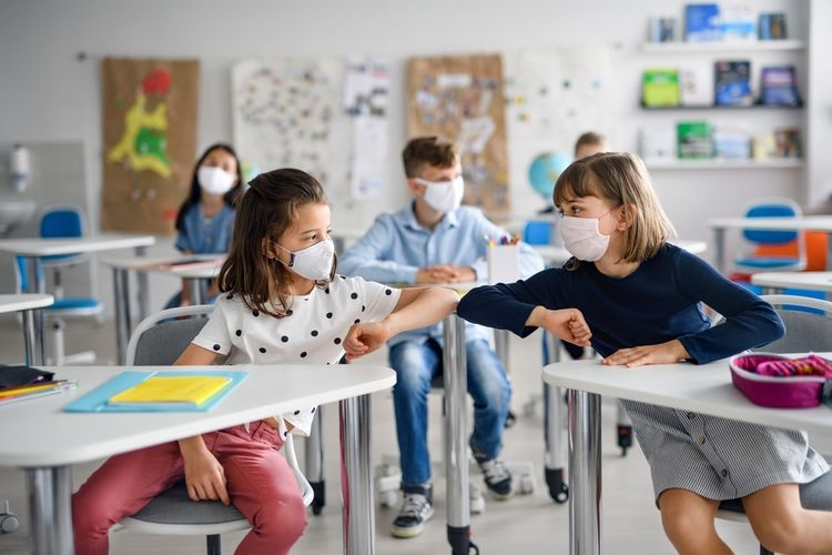 Ilustrasi anak sekolah. (Dok. Shutterstock via kompas.com)