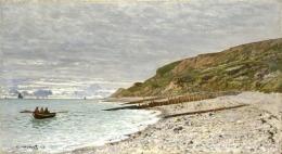 The Pointe of Heve karya Claude Monet (Sumber: wikiart.org)