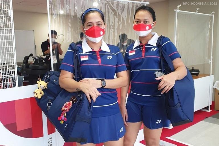 (Pasangan Ganda putri Paralimpiade Indonesia Dok: kemenpora.go.id)