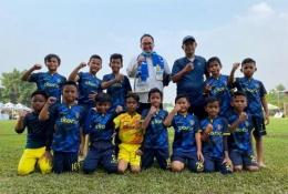 SSB Metro Kukusan setelah masuk perempat final Indonesia Junior League 2020/2021 (Sumber: indonesiajuniorleague.com)
