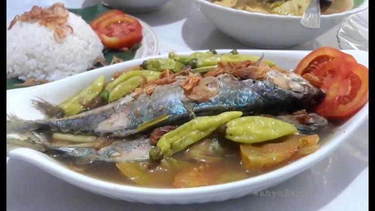Sup Ikan Kembung yang segar dan nikmat.   Foto: Wahyu Sapta.