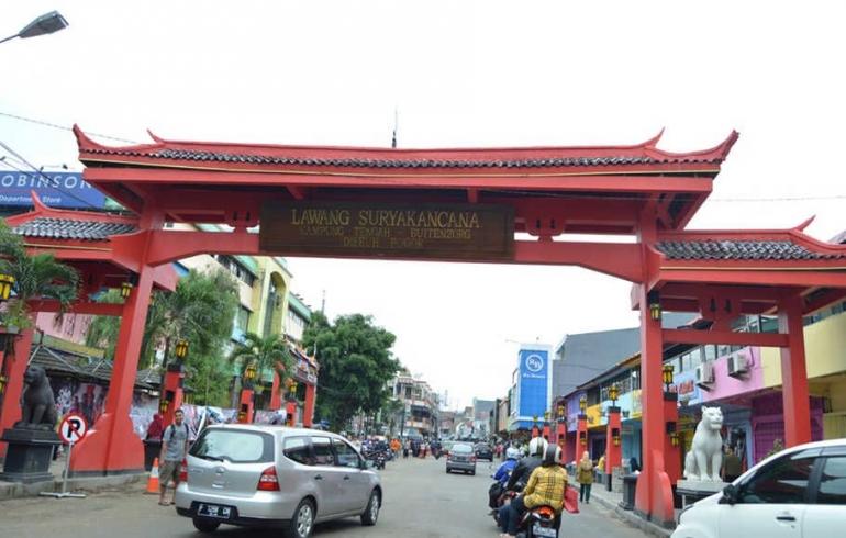 Jalan Surya Kencana Bogor tahun 2021 (Foto Beritasatu.com/Vento Saudale)