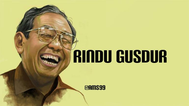 Puisi Rindu Gusdur/ Tempo.co By Text On Photo