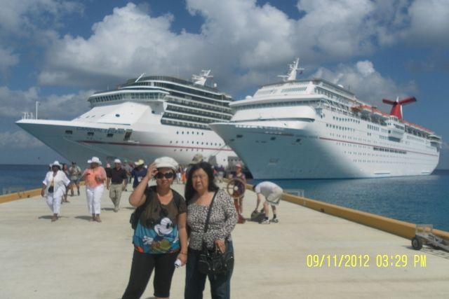 Cruise Carnival Paradise yang membawa kami (dok pribadi)