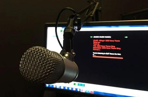 Radio mengudara: gambar via Pixbay
