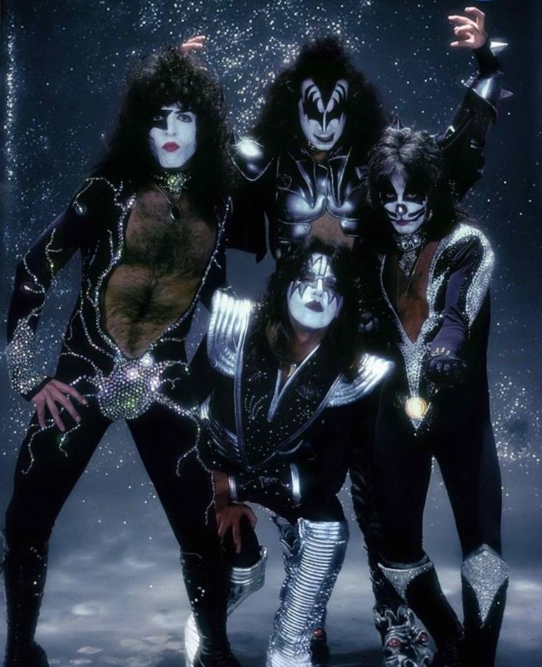 Foto Grup Rock KISS/Sumber: Pinterest/OurShirtsRock