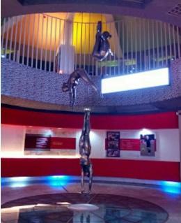Salah satu ruangan di Museum Olahraga Nasional (dokpri)