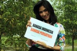 Larasati Dajar (24), Duta Bahasa dari Gorontalo (sumber foto: kompas.com)