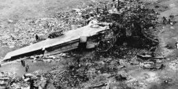 Sisa-sisa puing pesawat Pan Am dan KLM (international.kompas.com)