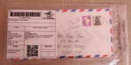 Surat dari Korea dikirim 22.1.94, tiba pada 2021/dokpri