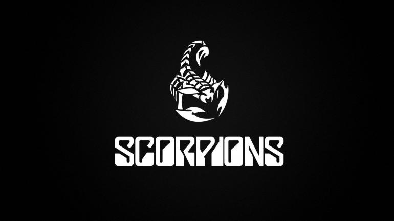Logo dari grup band Scorpions (sumber: wallpaperaccess.com)