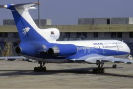 Pesawat jenis Tupolev buatan Uni Soviet yang pernah digunakan Ariana. Sumber: Udo Haafke