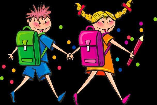 Ilustrasi anak sekolah (sumber gambar: pixabay.com/diolah)