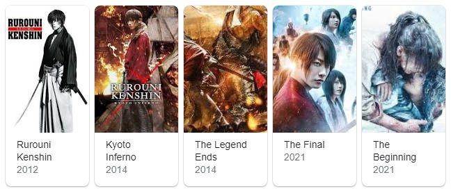 Daftar Film Samurai X | google.com