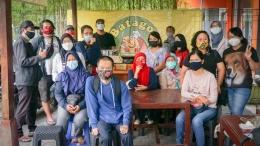 Suasana bersama Teman KJog terasa hangat walau ditengah pandemi. KJog/ Riana Dewi