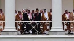Presiden Joko Widodo dan Raja Arab Saudi, Salman dan rombongan di Istana Bogor (Foto: Antara/Puspa Perwitasari via viva.co.id)