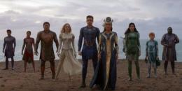 Para anggota The Eternals dalam seri film mendatang Marvel Studios. (Sumber: Dok. Marvel Studios, Capture Trailer Eternals)