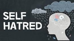 Ilustrasi self loathing atau self hatred | sumber: akun channel YouTube Einzelganger