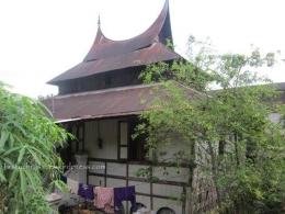 (Bekas) Surau Tabiang, Tanjung Barulak, Tanah Datar yang menjadi rumah.