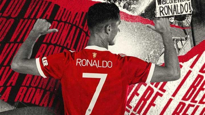 CR7 di Manchester United (Gambar: bola.tempo.co)