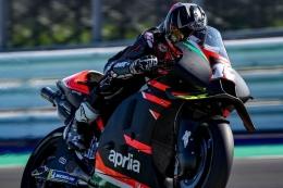 Aprilia baru bisa kedatangan pembalap berkualitas setelah ada drama Vinales vs Yamaha. Sumber: Dokumentasi @maverick12official/via Kompas.com