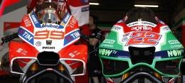Penampakan aero-fairingpada motor Ducati dan Aprilia musim 2017. Sumber: via GPone.com