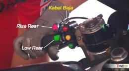 Ride Height Device yang dikabarkan sudah dipasang Ducati sejak GP Thailand 2019 pada motor Jack Miller (Pramac Ducati). Sumber: via Tmcblog.com