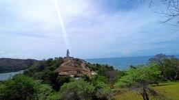 Foto.dok.pribadi/Patung Bunda Maria di Batas Negara RI Timor Leste