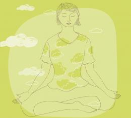 Ilustrasi. Sumber: Practical Mindfulness Book, hlm. 26.