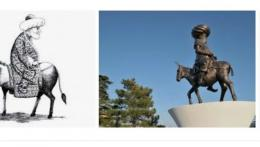 Ilustrasi.keledai nasrudin hoja.tokoh turki.dok.wikipedia.
