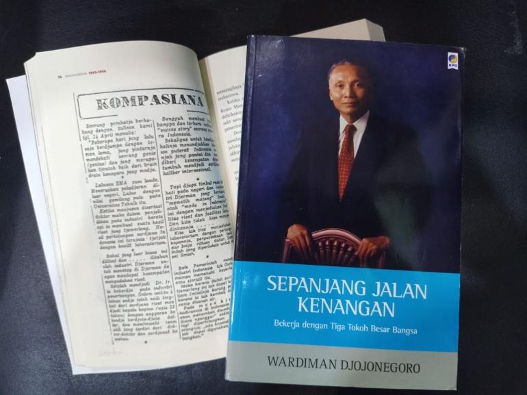 Menemukan kisah tulisan di Kompasiana 26 April 1969 (foto: Retty)