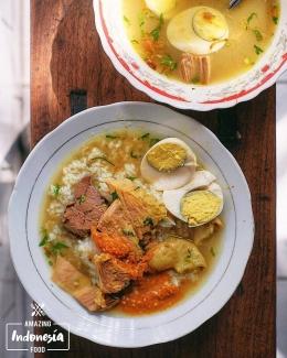 Soto Madura Gubeng Pojok. Sumber: @amazingindonesiafood / www.tripzilla.id