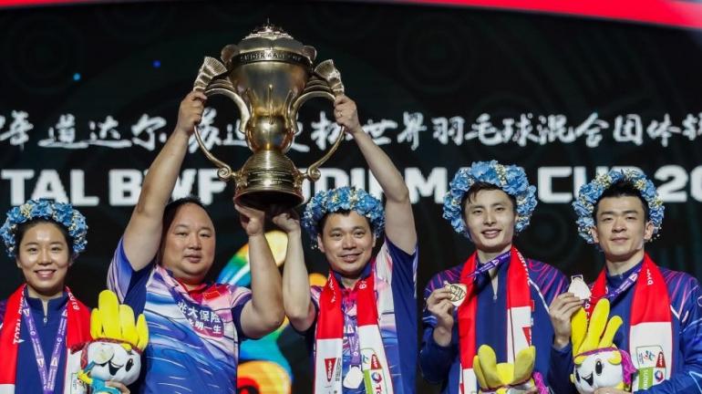 China sebagai juara bertahan Piala Sudirman: bwfbadminton.com