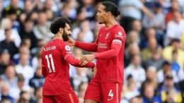 Mohamed Salah dan Virgil Van Dijk (BBC.co.uk)