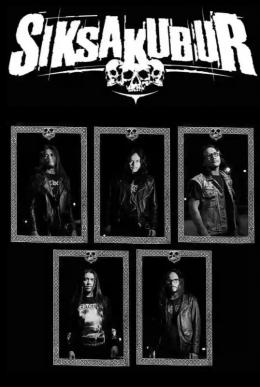 Poster personil band Siksakubur. Foto: metal-archives.com