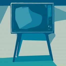 Ilustrasi Televisi (Gambar: PrettySleepy Via Pixabay)