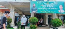 Ayo Vaksin, Indonesia Bangkit ( Dokpri)