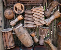 Sumber : pixabay.com | ilustrasi alat musik tradisional