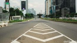 Ilustrasi pandemi pertama kali di Jakarta   news.detik.com