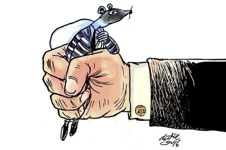 Ilustrasi korupsi (KOMPAS.com/NURWAHIDAH)