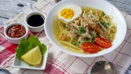 Soto Ayam kampung ( koki.com )